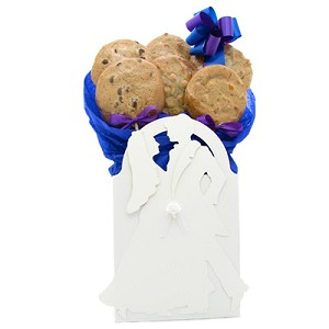 Anniversary or Wedding Cookie Gift - 6 Gourmet Cookies