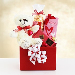 Bear Hugs Valentines Day Gift Basket
