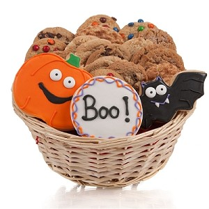 Boo! Halloween Cookie Gift Basket