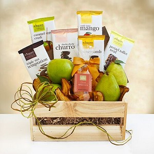 Chocolate And Fruit Classic Gift Basket