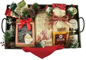 Christmas Time: Rise & Shine Christmas Morning, Deluxe Breakfast Tray