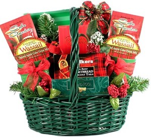 Classic Christmas: Holiday Gift Basket