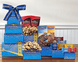 Ghirardelli Deluxe Chocolate Gift Tower