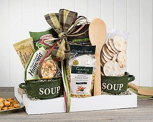 Deluxe Soup Gift Basket