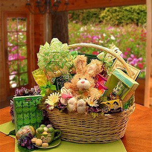 Easter Celebration Deluxe Gift Basket