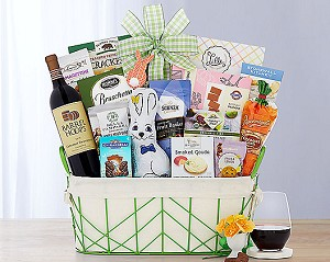Easter Celebration Wine Gift Basket