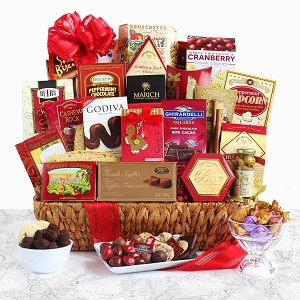 Grand Extravaganza Holiday Gourmet Gift Basket