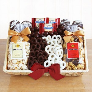 Favorites.Sweet Snacks Gift Basket