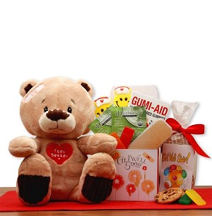 Feel Better: Teddy  Bear Get Well Gift
