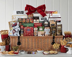 Festive Grand Gourmet Holiday Basket