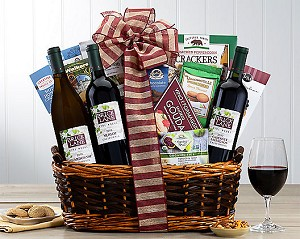 Fine Wines Trio Collection Gift Basket