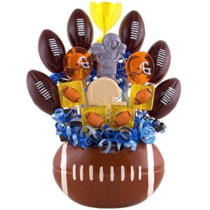 Football Lollipop Bouquet