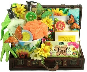 Garden Luxury Gift, Spa and Gourmet Gift Basket