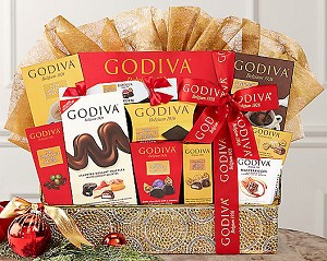 Godiva Confections Chocolate Gift Basket