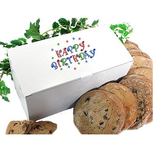 Happy Birthday Gourmet Cookie Gift Box