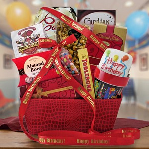 Happy Birthday Snack & Sweets Gift Basket