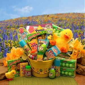 Happy Easter Duck A Doodle Basket