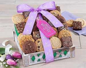 Happy Mother's Day Brownie and Cookie Gift Crate
