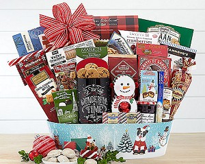 Holiday Party Gourmet Gift Basket