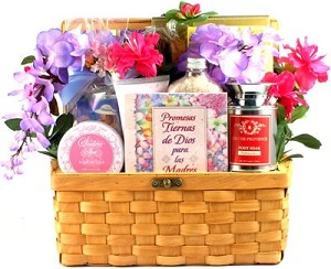 Mi Madre Querida: Spanish Gift Basket