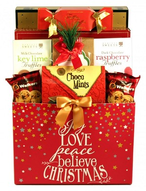 Magical Christmas Savory Sweets & Treats Gift Basket