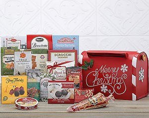 Merry Christmas Gourmet Mailbox Holiday Gift