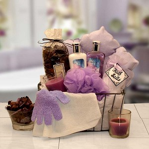 Relaxation Bath & Body Spa Gift Basket