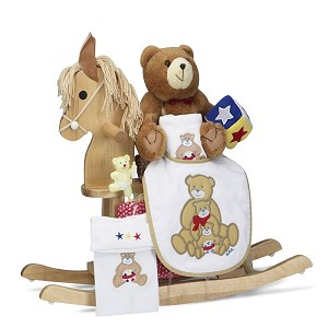 Rocking Horse Keepsake Baby Gift