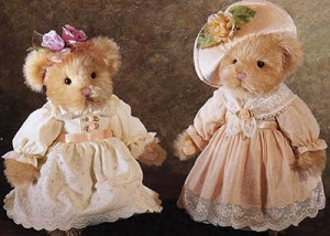 Russ Bronwyn & Bethany Victorian Collectible Bear - Bears From The Past