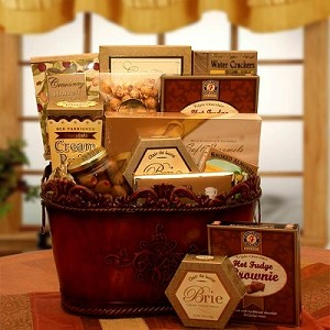 Sophisticated Gourmet Gift Basket