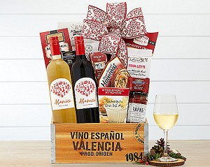 Traditional Wines Of Spain: Wine Duet Gift Basket