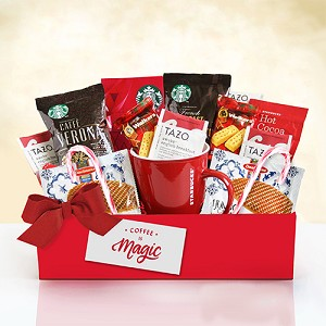 Starbucks Holiday Gift Basket