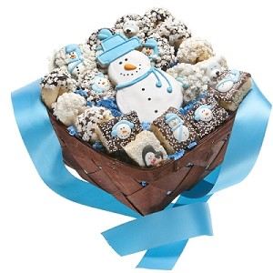 Sweet Assortment Winter Gift Basket