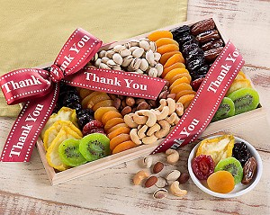Thank You: Dried Fruit and Nut Gift Collection