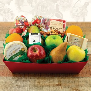 The Celebrity Fruit & Cheese Gift Basket