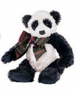 Gund Tinsel Panda Collectible