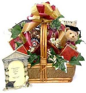 To A Special Grad: Graduation Gift Basket