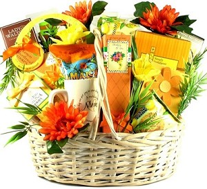 To Mom With Love: Special Gift Basket For Mom