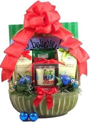 We Believe: Christian Christmas Gift Basket