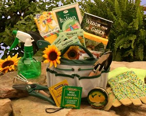 Weekend Garden Gift Basket